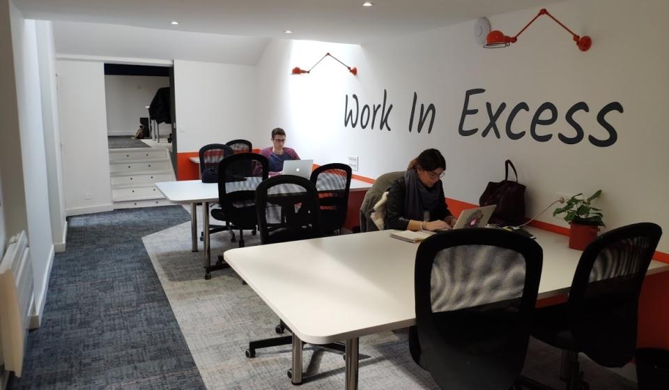 espace de coworker à la journée